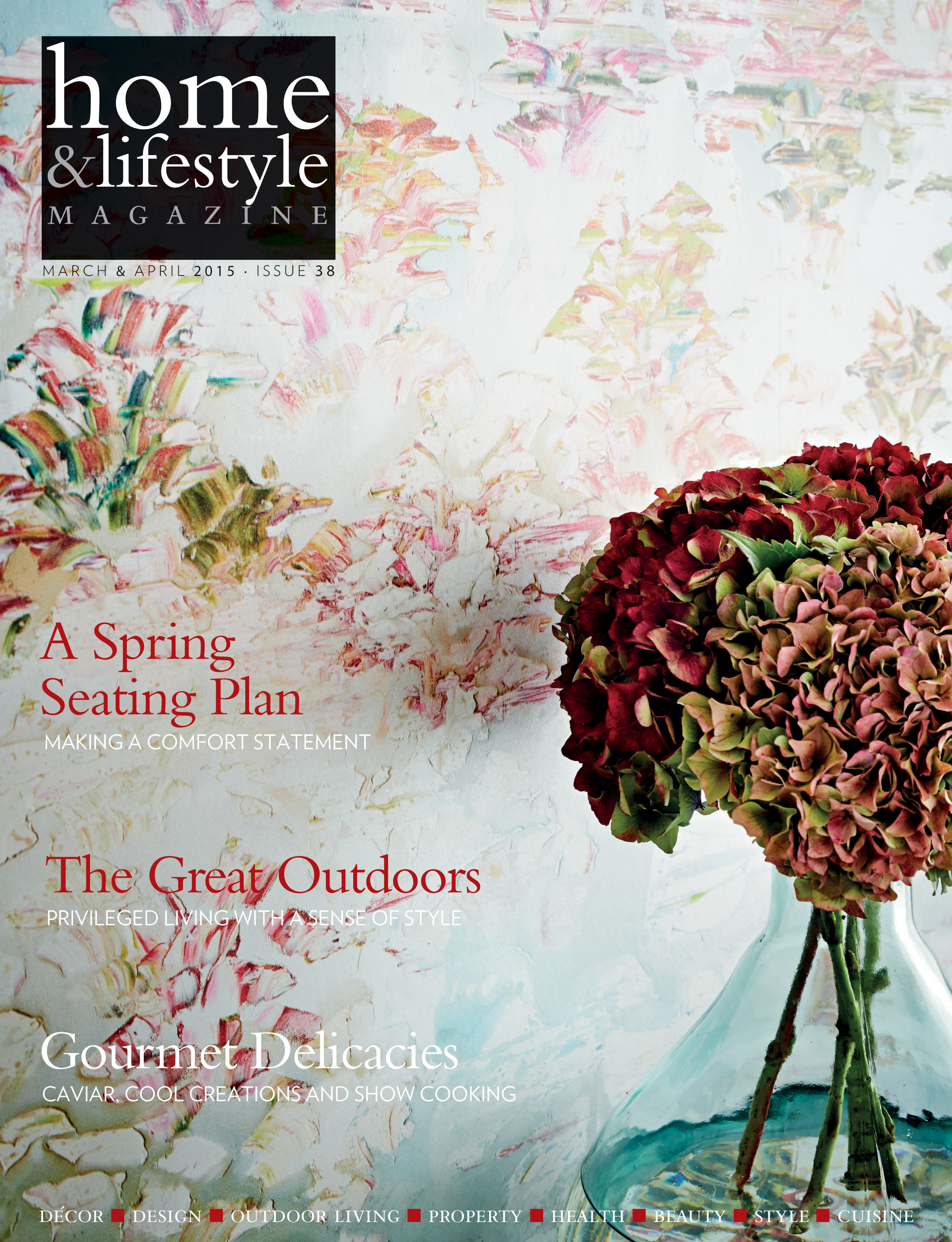 March April 2015 edition of Home & Lifestyle Magazine