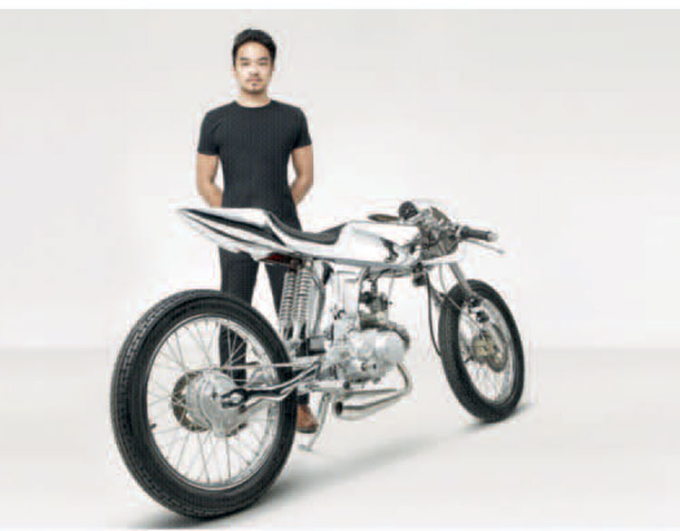 Evolutionary Motorcycle Merges Art with Machine - Home & Lifestyle Magazine
